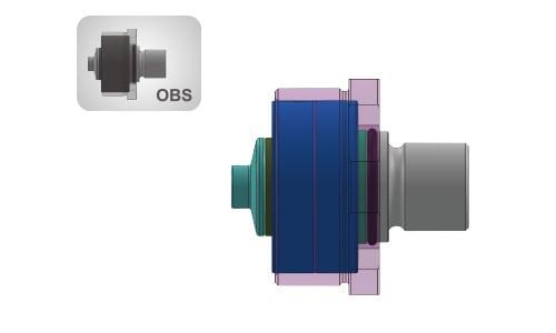 Oversize Bearing System
