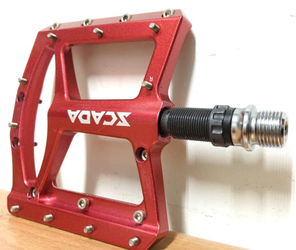 Bmx Pedal Axle Insertion