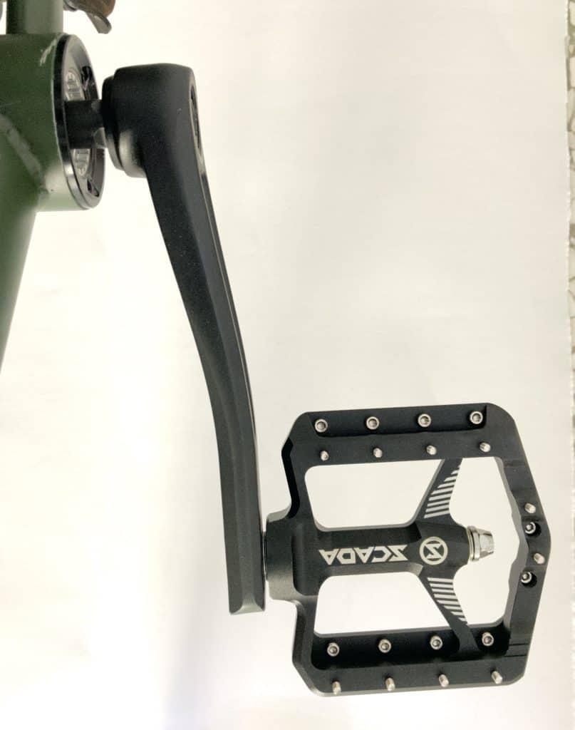 Bmx Pedal on Crank