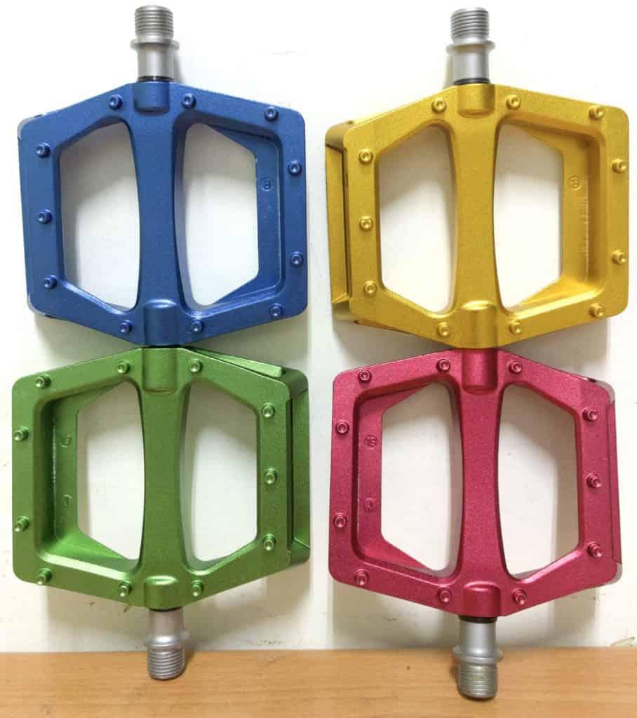 Deucalite Bmx Pedals 4 Colors