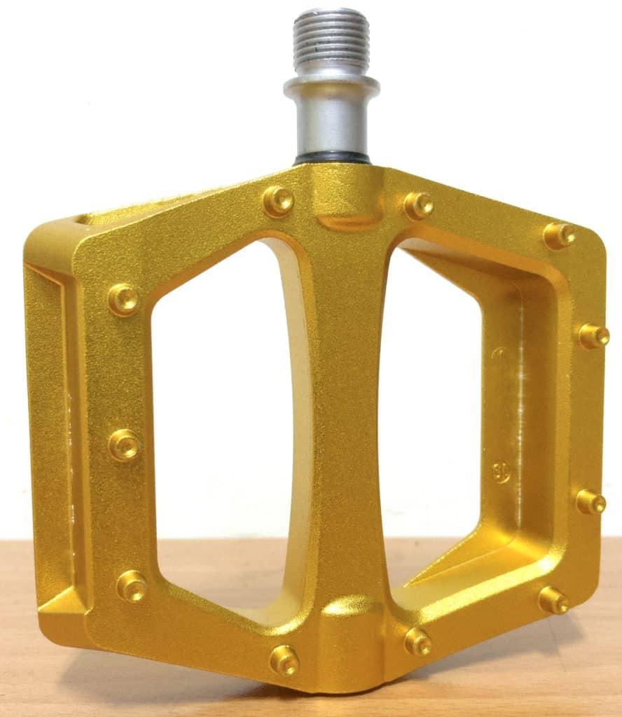 Deucalite Gold Bmx Pedal