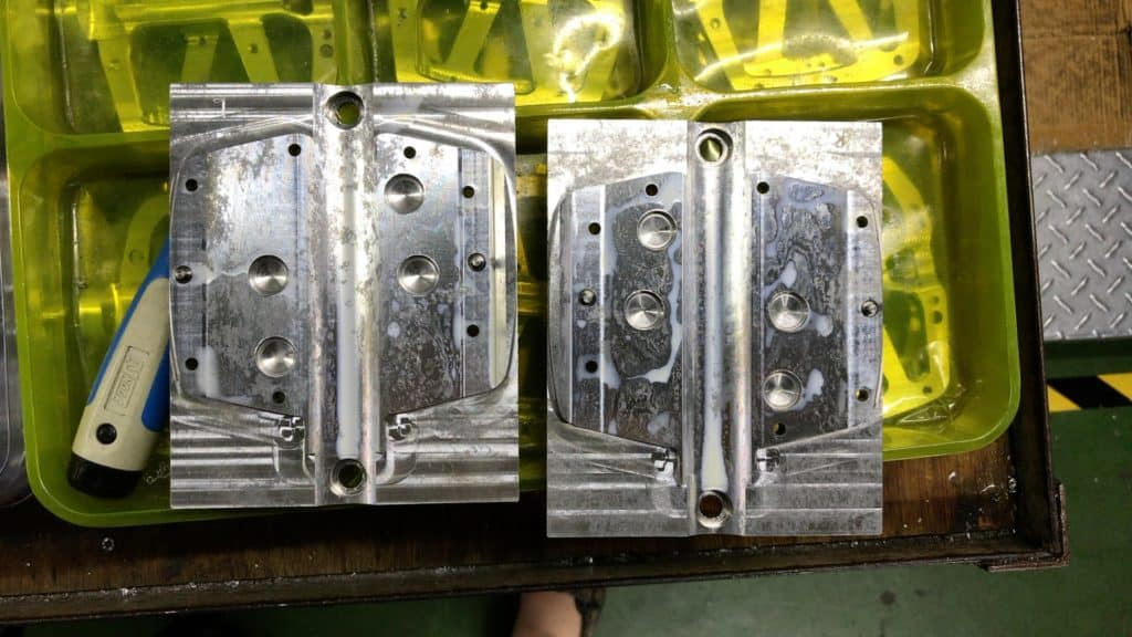 Pedal Blanks ready for CNC
