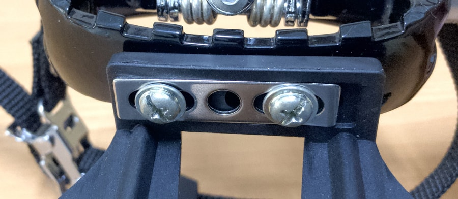 Toe Clip Pedal Screws