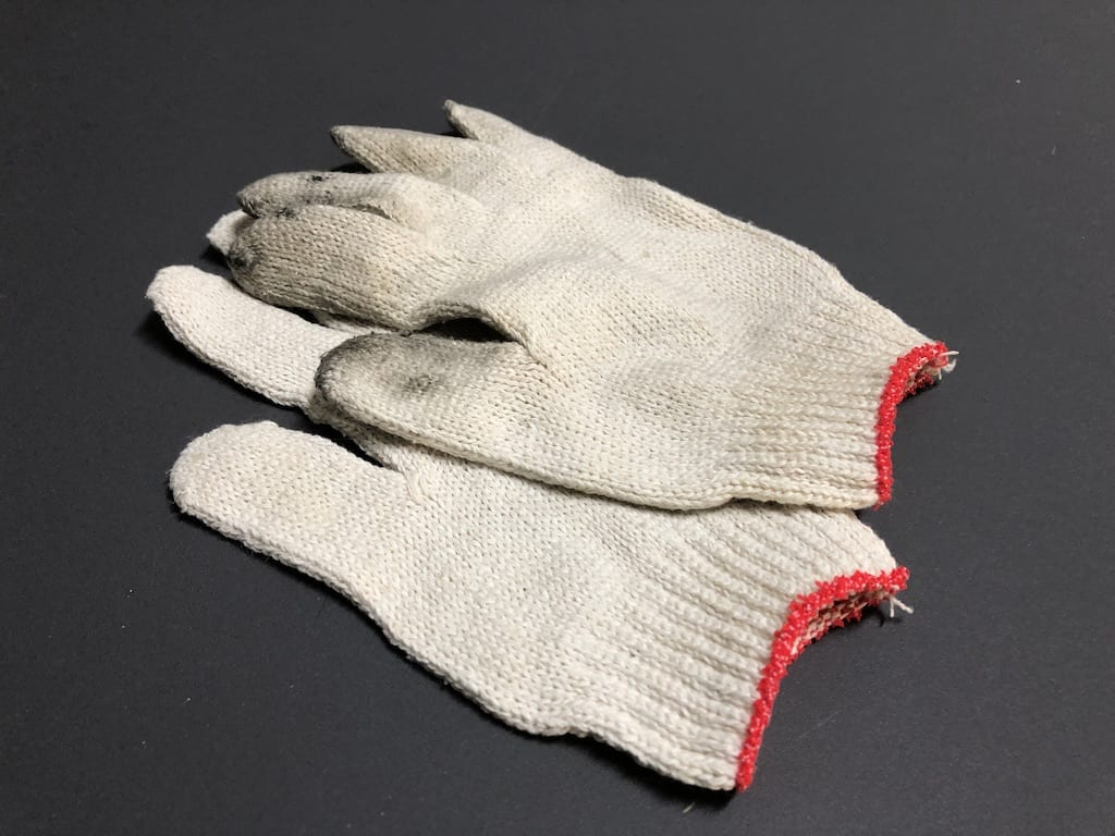 gloves for working a bike