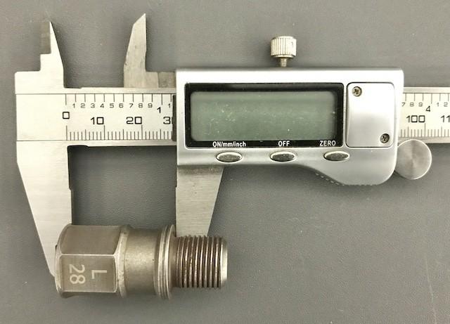 28mm Bike Pedal Extender