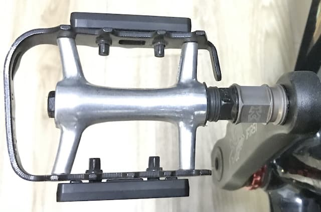 bike pedal extender with pedal