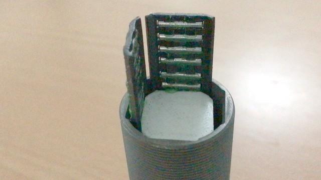 Install Bearings with Jig closeup
