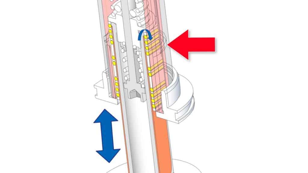 Needle Bearings Closeup