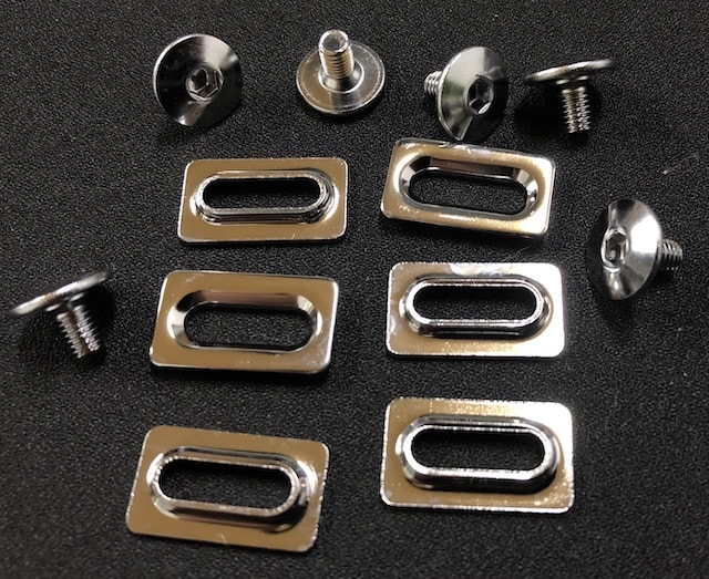 Pedal Cleat Bolts and Washers