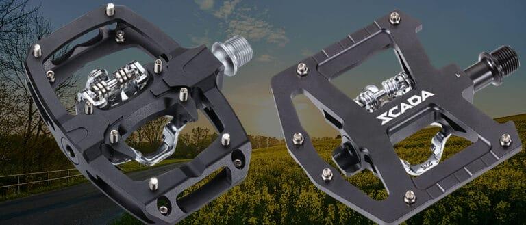 Hybrid bike pedals